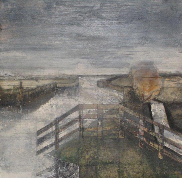 """Sjoerd de Vries """"van Panhuijskanaal"""" 1979"""
